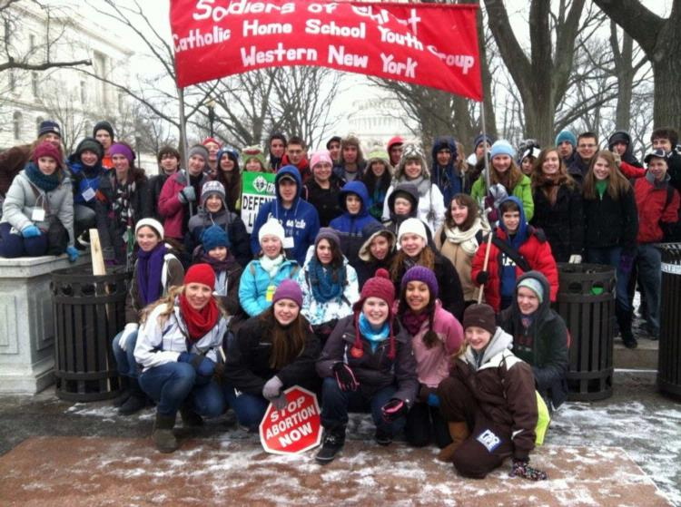 March For Life - Soldiers of Christ 2013